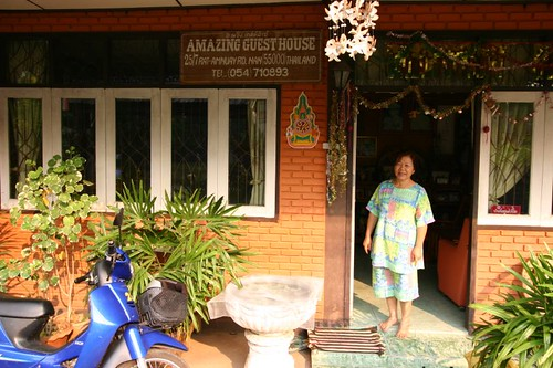 Amazing Guesthouse in Nan. Wonderful, friendly place.