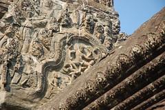 Angkor Wat Rooftop Detail