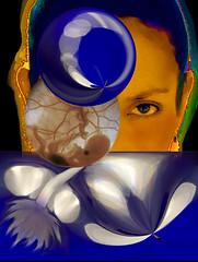 Great Mother Sea (NMCIL) Tags: art history photography women contemporaryart goddess literature virgin religions virgen 2007 myths redandbluegroup socialstructure thegreatmother