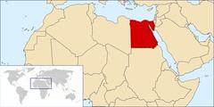 Lokasi Negara Mesir