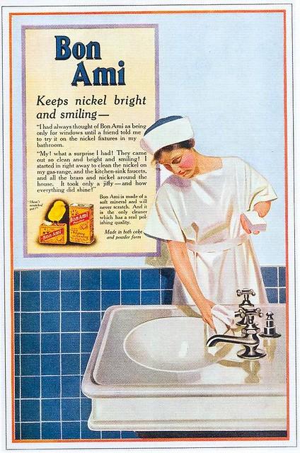 Bon Ami Cleanser, 1918