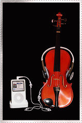 Classical Goes Pop (chatallot) Tags: music ipod song pop sound headphones duranduran wiredforsound 2pair icans clssical