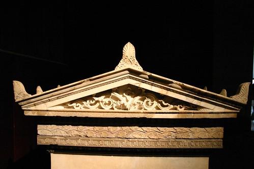 Tomb headpiece
