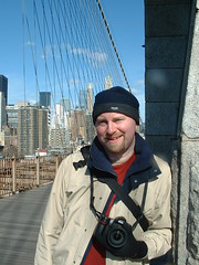 Liam on Brooklyn Bridge