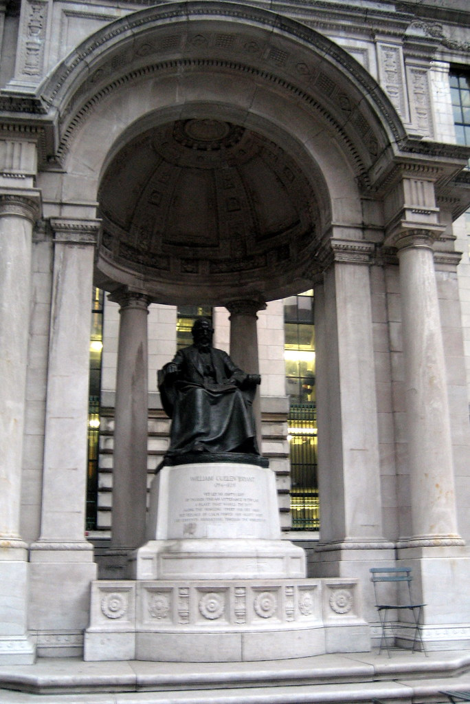 NYC - Bryant Park: William Cullen Bryant statue
