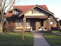 Craftsman Home, McLean Street--Highland Park MI by pinehurst19475