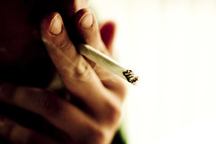 Smoking (denlinkbarmann) Tags: macro lights cancer smoking tyler camel huff lung cigerette barmann denlin