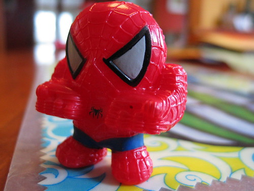 creepy spiderman