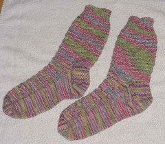 Watermelon Tourmaline Socks