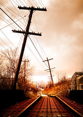 Stand By Me (gallow_chris) Tags: longexposure bridge texture abandoned night cn rust engine railway locomotive brantford steal rivots railline nikond2x nikoncapturenx abigfave superaplus aplusphoto chrisgallow 2007chrisgallow standbymemovie