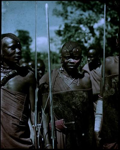 African wedding dancers