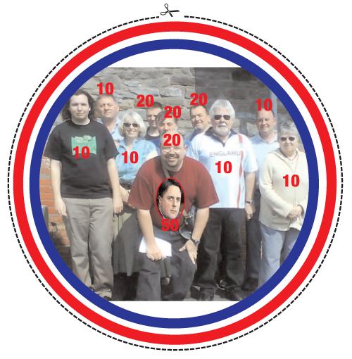 BNP Darts board