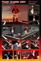 Found Injured Neko Comic Part 1