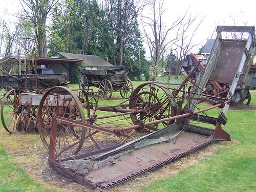 OLD TRACTORS, FARM EQUIPMENT