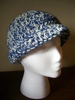 Crochet Fold Brim Hat