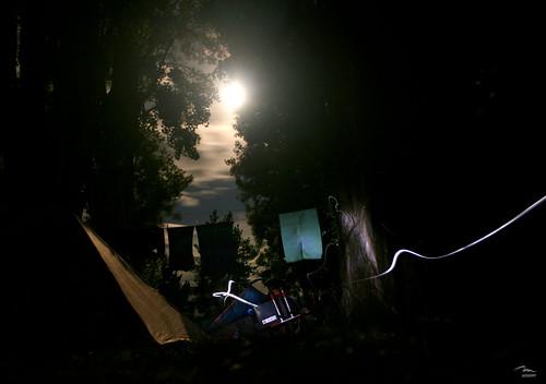 Campsite near Wanaka