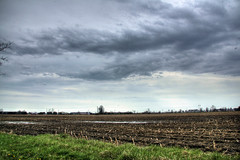HDR storm clouds