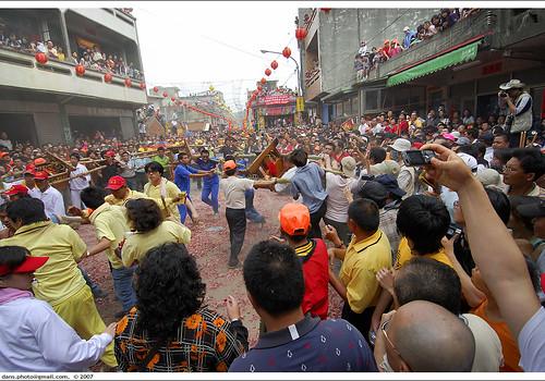 Baishatun Mazu festival,