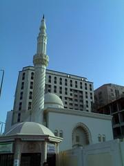 Masjid Bukhari (alsay) Tags: mobile nokia phone minaret islam mosque saudi medina saudiarabia n70 masjid islamic phoneshot bukhari madinah nokian70