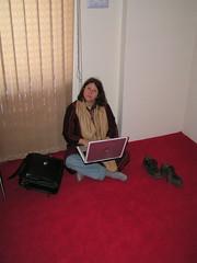 Jayne Online in Afghanistan