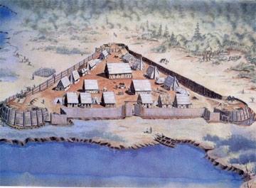 Artist_Rendition_of_Jamestown_Settlement