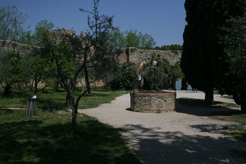The park in the old fort
