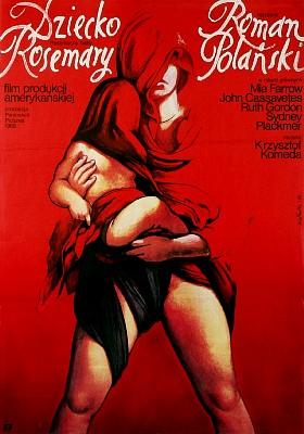 la semilla del diablo poster polaco