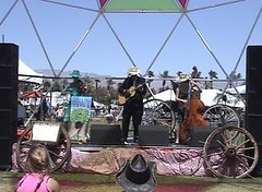 The Hollow Trees on Stage at the Stagecoach Festival