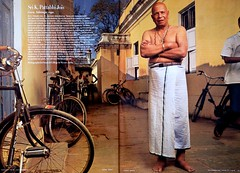Guruji in Vanity Fair Magazine, June 2007 (govindakai) Tags: vanity fair guruji
