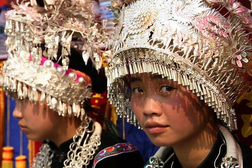 miao minority - china