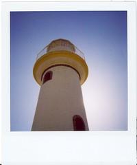 Faro contra el azul - Lighthouse against blue - Lumturo kontraÅ bluo - by Reset Reboot