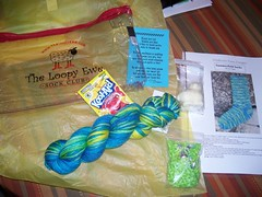 Contents of the sock club package