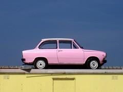 bubblegum car