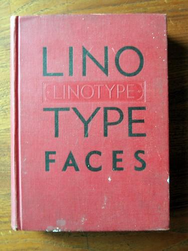 Linotype- Type Specimen