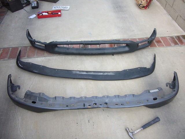 truck parts tools bumper toyota tacoma 1994 bodywork alhambraca