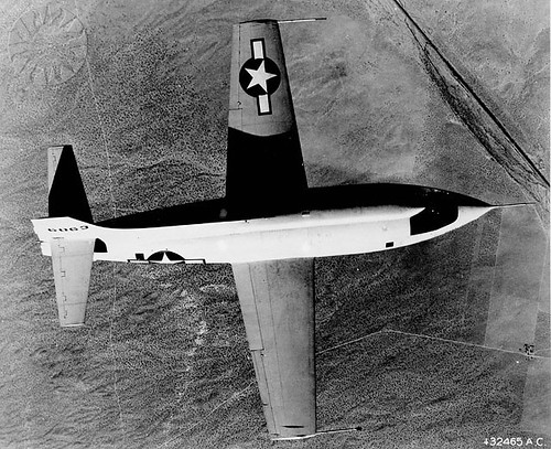 BELL X-1 (RETOUCHED IMAGE)