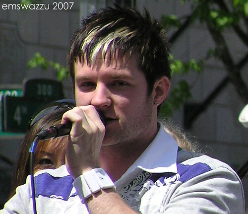 Blake Lewis at Westlake Park in Seattle, May 2007