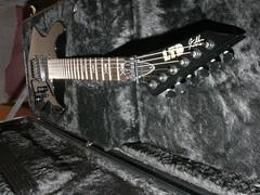 My KH-602 (amal8301) Tags: black guitar board pickup case metallica strings kh nut fret ltd esp kirk skully locking pickups fretboard headstock rosewood emg hammett kh602