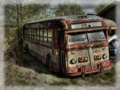 Old Bus by Michel Filion, on Flickr