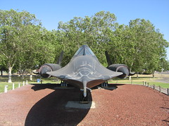 SR-71 Blackbird at Castle Air Museum