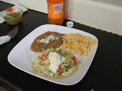 Quesadilla platter