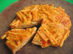 Pasta mini frittata