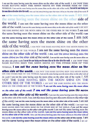 Moon shine collage sheet