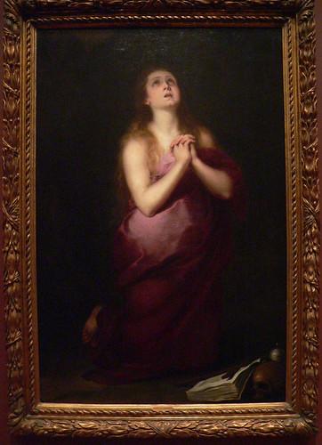 Mary Magdalene by Bartolome Esteban Murillo 1650-55 Oil on canvas