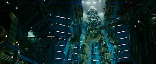 Transformers pelicula Megatron descongelado