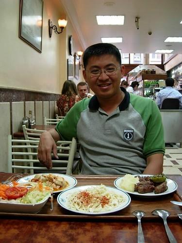 Dinner at Iskaletik Cad