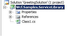Add a WCF Service to the solution