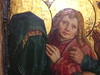 Mary and Mary Magdalene weep at the mocking of Jesus