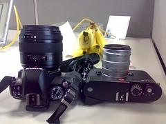Panasonic Leica D Summilux 25mm f1.4 vs Leica Summilux 50mm f1.4 (digitalbear) Tags: leica japan 50mm tokyo f14 olympus m8 summilux 25mm e410