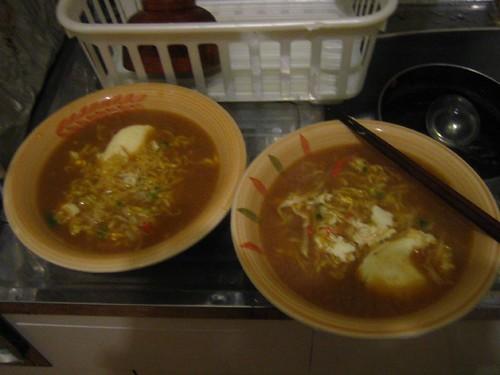5.17晚餐-泡麵晚餐加量20%